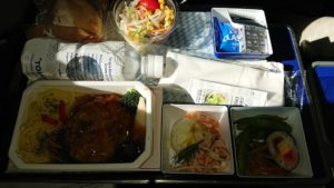 NH857便機内食